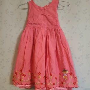 Size 5 Nickelodeon Dora the Explorer dress